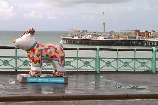 Snowdogs-by-the-Sea Art Trail